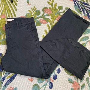 Tory Burch Sabrina Phantom Flare Gray Pants